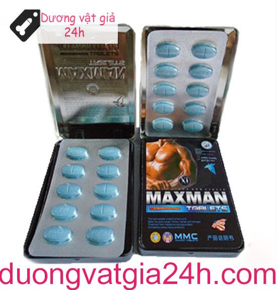 Thuốc cương dương Maxman 3800mg 10 viên 2