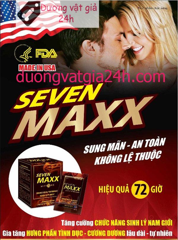 Thuốc Seven maxx kích thích nam quan hệ mạnh hơn 2