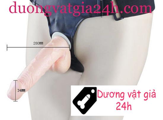 Sextoy cho đồng tính nữ - Cu giả dây đeo bơm hơi 2