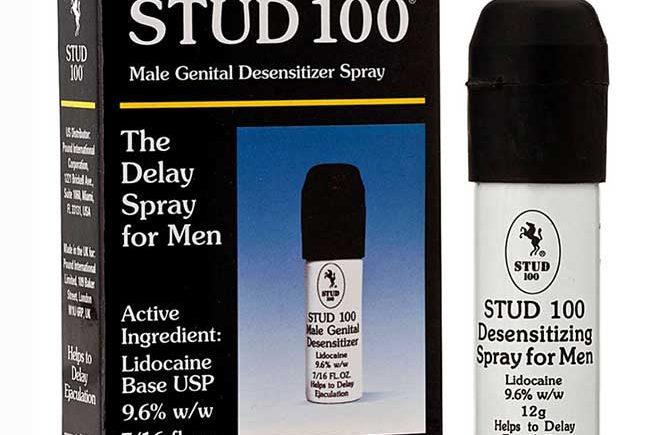 Thuốc xịt trị xuất tinh sớm Stud 100