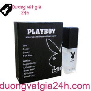 Chai xịt Playboy trị xuất tinh sớm