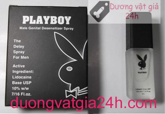 Chai xịt Playboy trị xuất tinh sớm 3