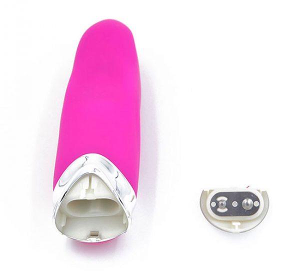 Máy rung làm sướng âm đạo - Lưỡi liếm silicon có rung 4