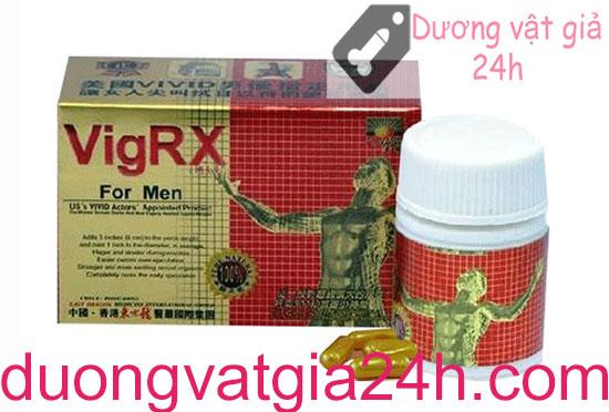 Thuốc làm dương vật cương cứng VigRx For Men