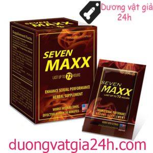 Thuốc Seven maxx kích thích nam quan hệ mạnh hơn