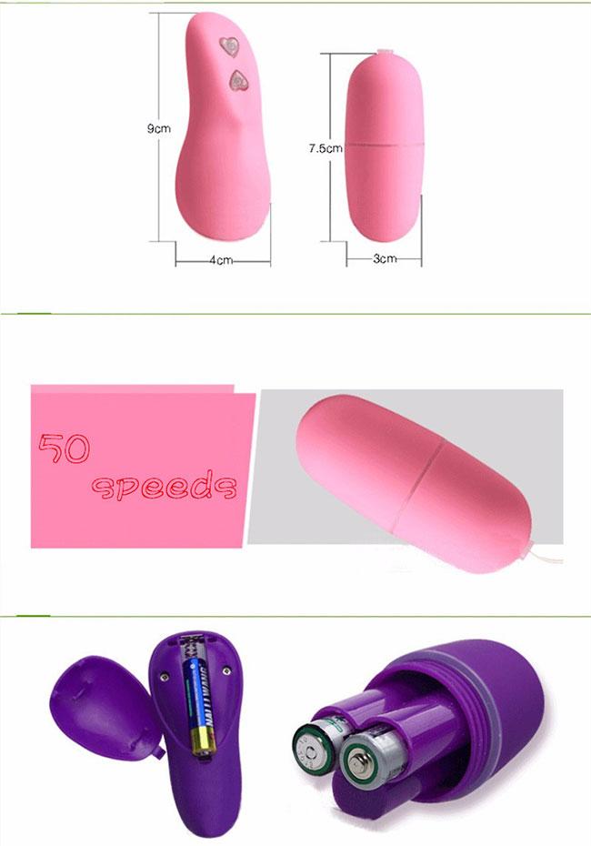 Dụng cụ kích thích âm đạo - Trứng rung silicon điều khiển từ xa 2