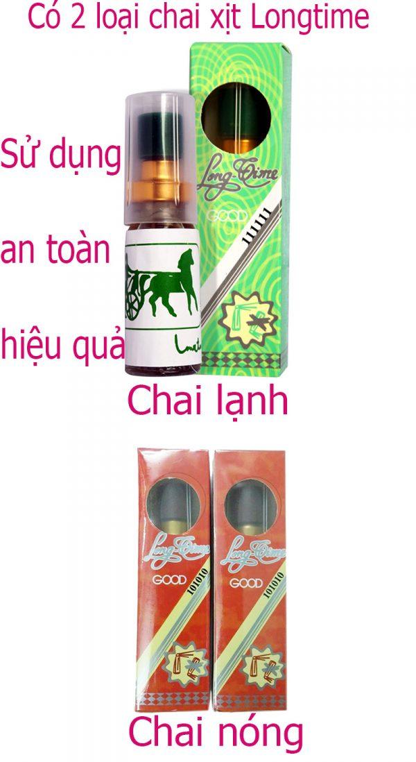 Chai xịt Long Time kéo dài thời gian giá chỉ 100K tại Sài Gòn 5